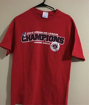 Vintage 02' Angels Champions T for Sale in Fontana, CA