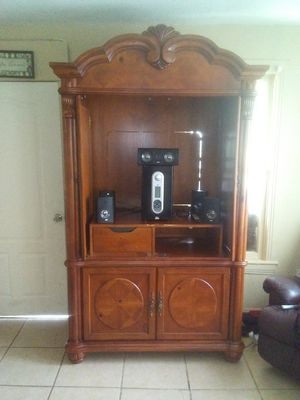 Beautiful entertainment center for Sale in Sulphur Springs, TX
