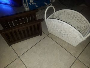 MAGAZINE RACKS 10 each for Sale in Boca Raton, FL