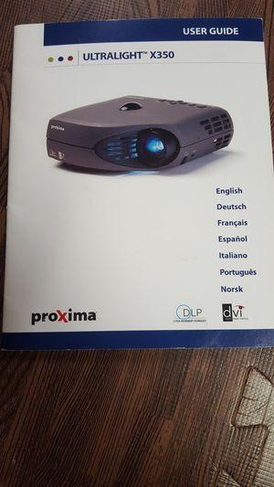Proxima Ultralight x350 Projector for Sale in Fair Lawn, NJ