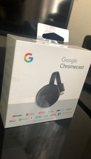 Chromecast (latest model ) Google. :) for Sale in Simi Valley, CA