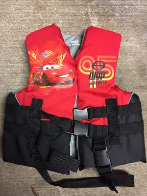 Cars kid life jacket for Sale in Tampa, FL