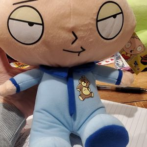 "Family Guy Stewie Griffin Plush 7"" In Pajamas for Sale in Nellis Air Force Base, NV"