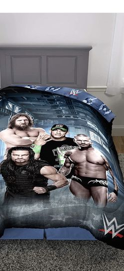 WWE Reversible Twin Sheet And Comforter Set for Sale in McDonald,  PA