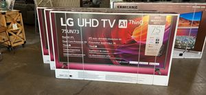 "75"" LG TV on SALE $999 today Only for Sale in Dallas, TX"