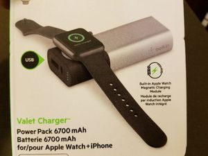 Apple watch wireless charger for Sale in Harrisonburg, VA