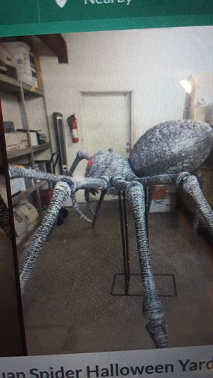 Gargantuan 9ft spider 450.00 for Sale in Virginia Beach, VA