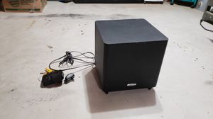 Polk audio Pswi225 wireless subwoofer! Great for apartment for Sale in Boylston, MA