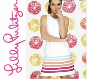 NWT Lilly Pulitzer Pearl Dress Resort White Pearl Swirl for Sale in Alexandria, VA
