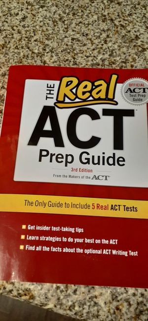 ACT book for Sale in Homestead, FL