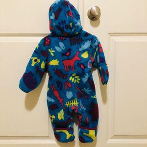 Columbia Infant Snowtop Fleece suit/bunting 6M for Sale in Renton, WA