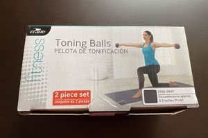 New Fitness Toning Balls 2 Piece Set for Sale in McKinney, TX