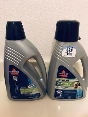 New! Bissell deep clean pro & advanced professional pet for Sale in Las Vegas, NV