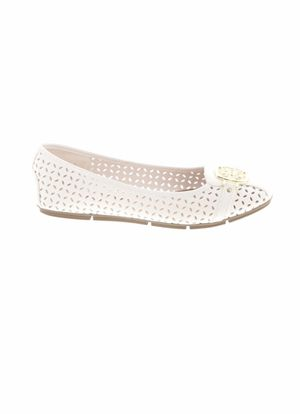 Christian Siriano for Payless White faux leather slip on flats Women's US 7M for Sale in French Creek, WV