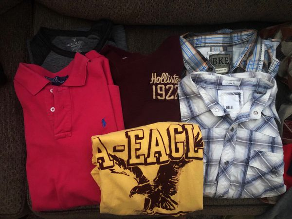 BKE, Polo, Hollister, American Eagle Shirt Loy