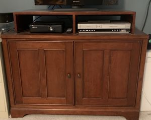Media cabinet *solid wood FREE!!! for Sale in Cary, NC