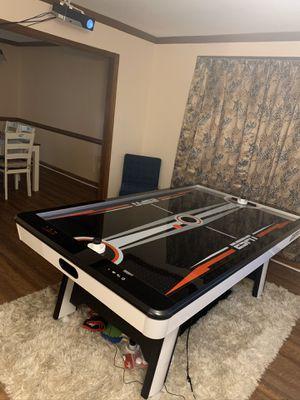 ESPN air hockey table with table tennis for Sale in Virginia Beach, VA