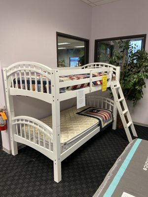 Bunk Bed in White or Expresso Only $199! for Sale in Vancouver, WA