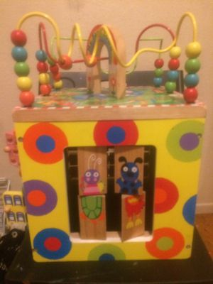 My Busy Town Wooden Activity Cube for Sale in Walnut Creek, CA