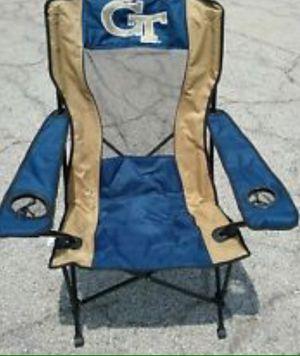 NCAA GeorgiaTech High Back Chair Silla De descanso for Sale in Hialeah, FL