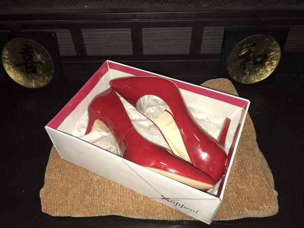 Red Pointed Toe High Heels (Stilettos)