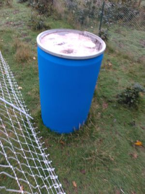 55 Gallon drum for Sale in Yelm, WA