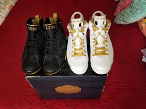 Air Jordan Golden Moment Package (6/7) (2012) for Sale in Fort Lauderdale, FL