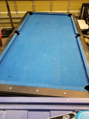 Pool table, curve alert, first come, first serve. No holds for Sale in Lakeland, FL
