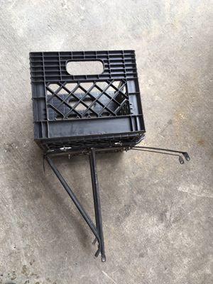 Basket carrier for bicycle for Sale in Austin, TX