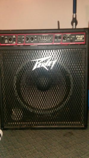 Bass amplifier,Peavey TKO 115,EQUALIZER for Sale in Beaver Falls, PA