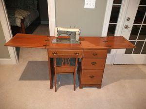 Necchi Supernova Sewing Machine Table for Sale in Ashburn, VA