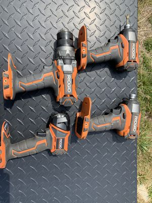 Ridgid power tools for Sale in Roy, WA