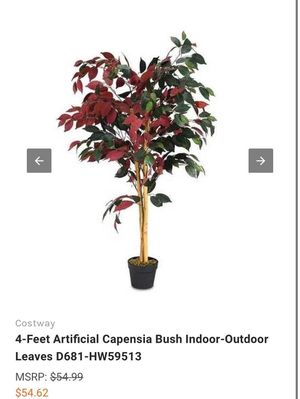 4 ft artificial plant tree for Sale in Rancho Cucamonga, CA