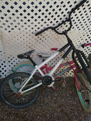 2 Freestyle Bikes and a Huffy Girl Bike for Sale in Las Vegas, NV