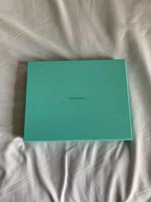 Tiffany & Co, iPad black leather case, Never used MSRP $125 for Sale in Attleboro, MA