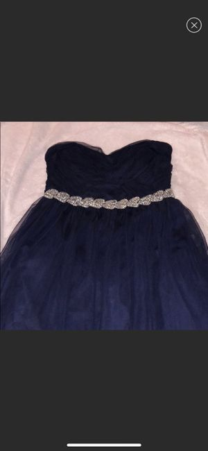 BLUE PROM DRESS for Sale in Winchester, CA