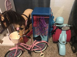 American girl/next generation doll toys for Sale in Edgewater, CO