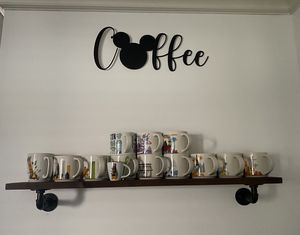Disney Mickey coffee bar wall decor sign for Sale in Norcross, GA