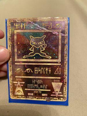 2000 Pokémon Game Promo Ancient Mew Mewtew Strikes Back Movie for Sale in Lewisville, TX