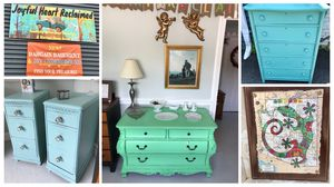 Fantastic refinished furniture and vintage home decor sale! for Sale in Chevy Chase, MD