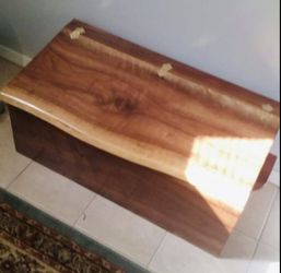 Walnut wooden box for Sale in Centreville,  VA