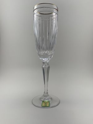 Waterford gold rim wine glass for Sale in San Diego, CA