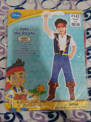 Boy's Halloween Costume size S 4-6 (Jake the Pirate) for Sale in Baldwin Park, CA