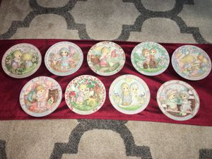 Collectible Precious Moments plates for Sale in Lacey, WA