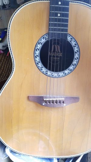 MATRIX BY OVATION ACOUSTIC GUITAR for Sale in VA, US