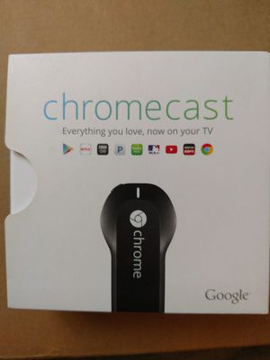 Chromecast by Google for Sale in Minneapolis, MN