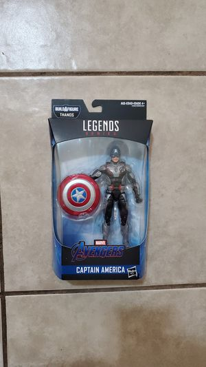 Avengers Captain America Legends Series Hasbro Action Figure toy for Sale in Redondo Beach, CA