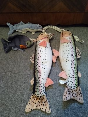 Cabin Critters Trout stuffed animals lot for Sale in Waterbury, CT