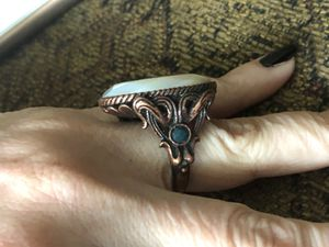 MOP lucky brand copper ring -size 7- for Sale in Portland, OR