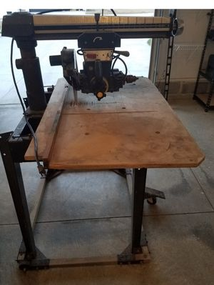 Industrial Craftsman Table Saw/ router/miter/rip for Sale in North Royalton, OH